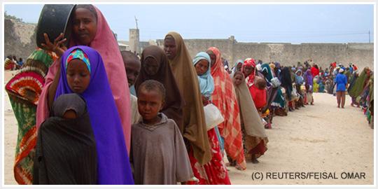 Catastrofe umanitaria nel corno d'Africa