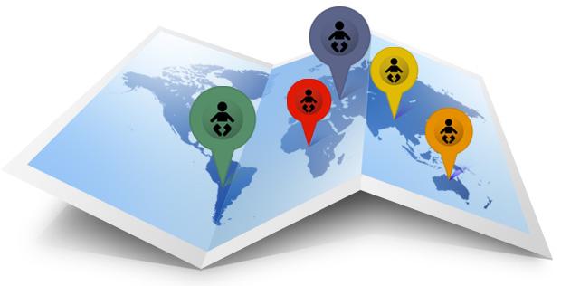Dove adottare a distanza nel Mondo