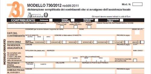 Il Modello CUD 730 / 2012