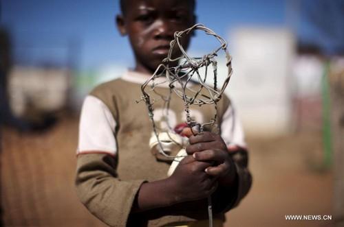 Giochi per bambini in africa