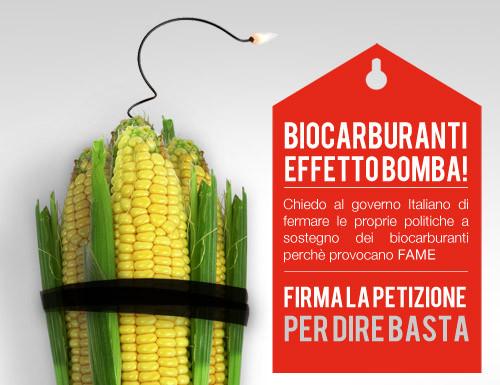 Stop ai biocarburanti con Actionaid