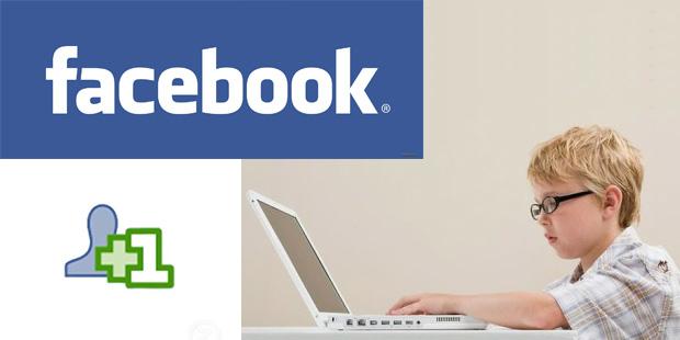 Facebook e minori di 13 anni