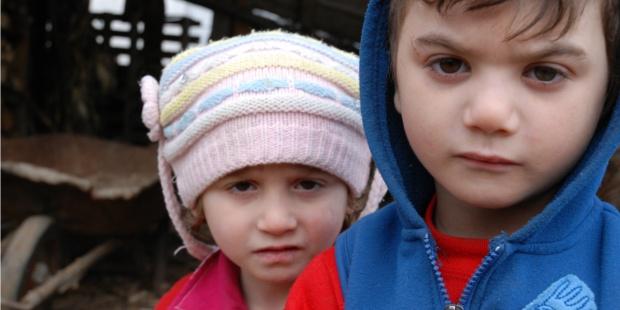 Bambini cacciati dall'Ucraina