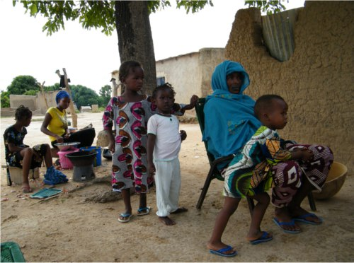 Bambini del Mali e Burkina Faso