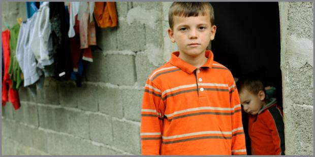 Bambini orfani Ucraina
