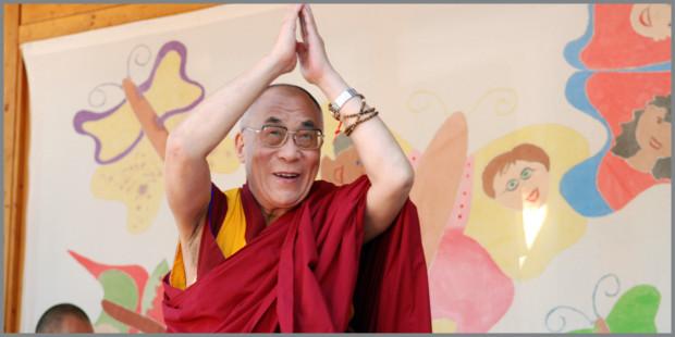 Dalai Lama in Italia nel 2012