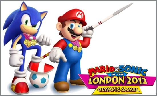 Il gioco di Mario e Sonic alle olimpiadi di Londra 2012