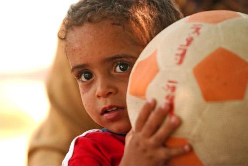 Adottare a distanza un bambino dell'Egitto