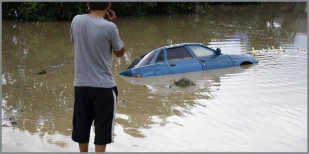 Alluvione in russia