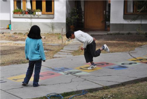 Giochi all'aperto per bambini