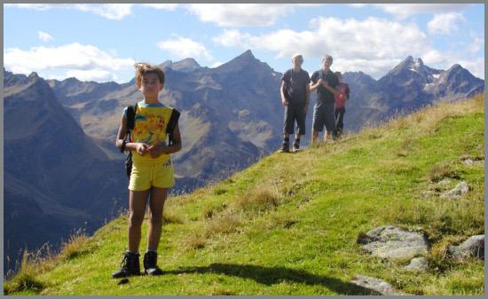 Sport in montagna per bambini
