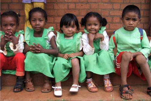 Adozione bambini del Madagascar