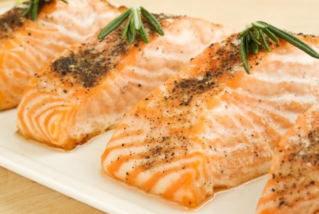 Salmone affumicato alle erbe