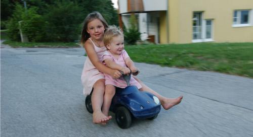 Bambini in auto e sicurezza