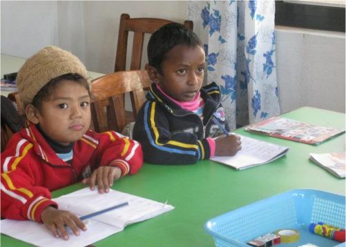 Bambini stranieri a scuola in Italia