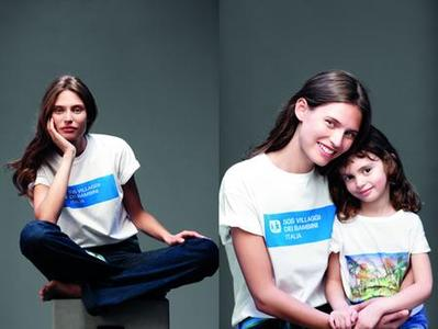 Louis Vuitton e Bianca Balti per SOS Villaggi dei Bambini