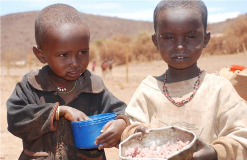 Adozione bambini del Kenia
