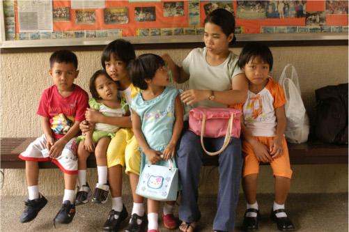 Bambini delle Filippine