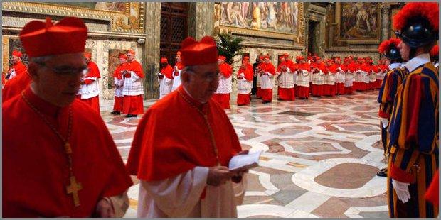 Conclave 2013 in Vaticano
