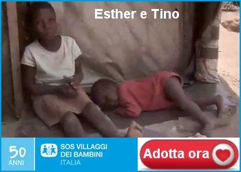 Esther e Tino Adozione a distanza