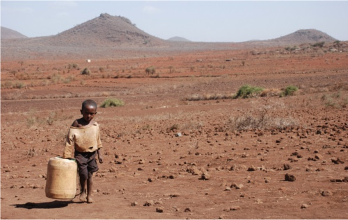 bambini in Africa