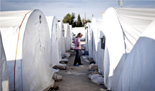 Campi profughi in Siria