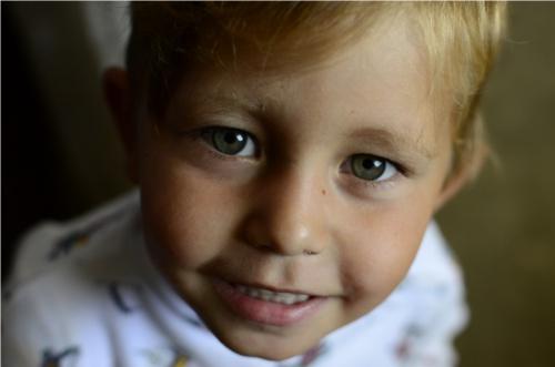 occhi di bambini