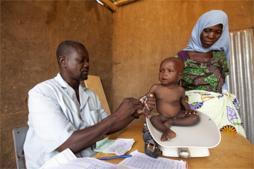 Tasso di mortalità infantile nei paesi poveri