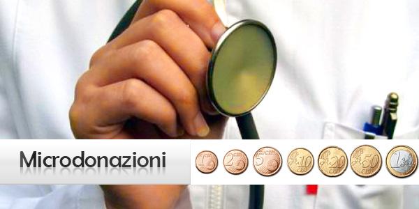 Microdonazioni medico per Onlus