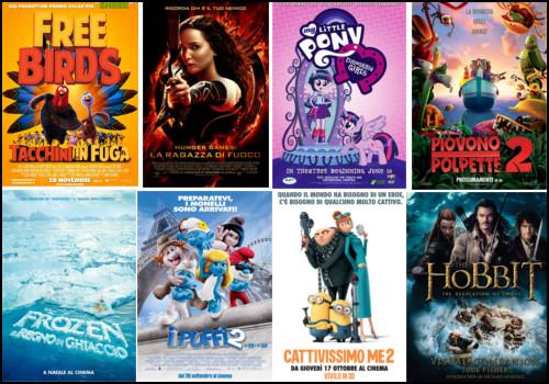 film e cartoni per bambini Natale 2013 e 2014