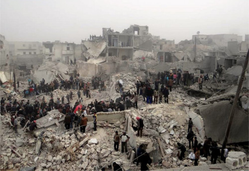 Guerra e speranza in Siria