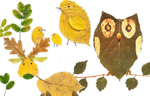 lavoretti per bambini autunno 2013