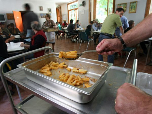 mensa dei poveri in italia