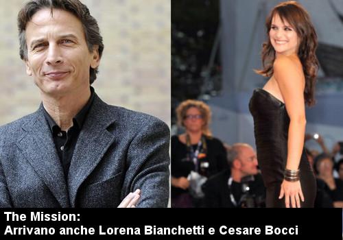 the mission Rai: Lorena Bianchetti e Cesare Bocci