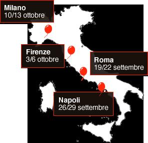 Villaggio Everyone a roma napoli milano e firenze