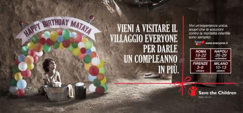 Villaggio Everyone per Save the Children