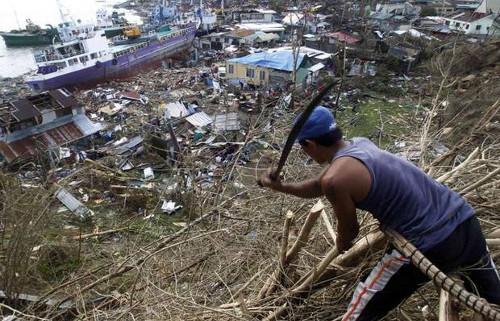 donazioni per le Filippine novembre 2013