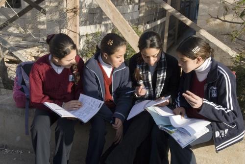 Bambine di un Villaggio SOS (materiale di archivio)