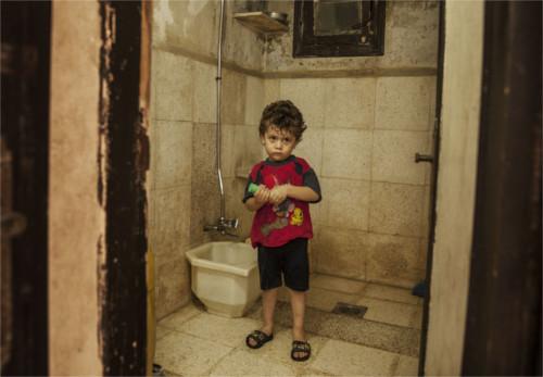 bambini della Siria video della bomba