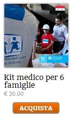 kit medico famiglie siria