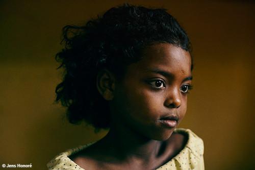 Bambina Etiopia