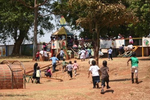 L'area giochi del Villaggio SOS di Lilongwe