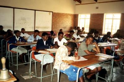 Un'aula del centro professionale del Villaggio SOS di Lilongwe