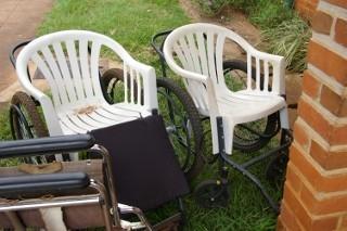 sedia a rotelle malawi
