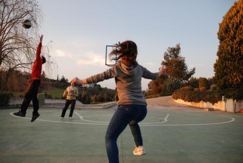 I bambini di un Villaggio SOS in Grecia