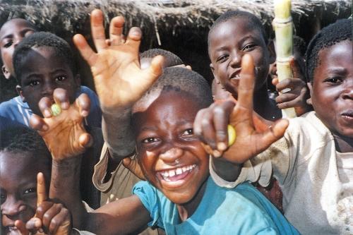 I bambini del Villaggio SOS di Lilongwe
