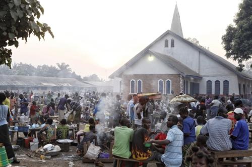 Sono 100'000 gli sfollati a causa degli scontri a Bangui (foto di Mr Till Müllenmeister)