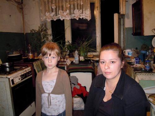 Olga e la sua famiglia (foto da http://sos-ukraine.org)